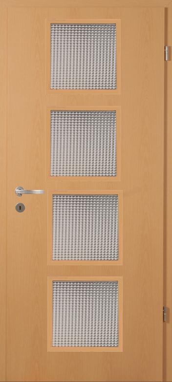 Bükk üveges bejárati ajtó