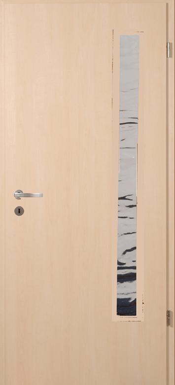 Juhar üveges bejárati ajtó