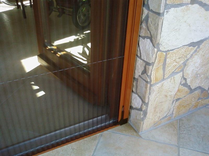 Harmonika szúnyogháló ajtó