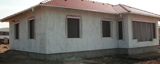 Családi ház nyílászáró beépítés 10