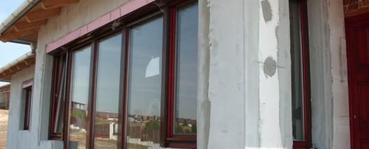Családi ház nyílászáró beépítés 4