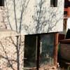 Társasház fa nyílászáró beépítés 4